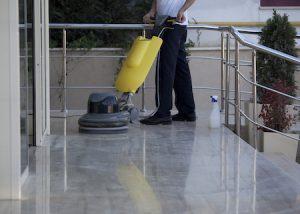 floor polishing vs buffing a floor